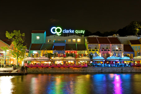 Kết quả hình ảnh cho Clarke Quay singapore