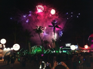 Fireworks at Zoukout