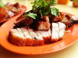 Singapore Crispy Roast Pork